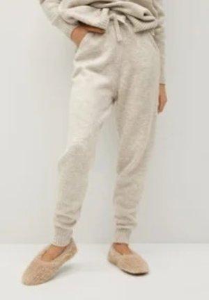 Mango Pantalone di lana bianco sporco-crema