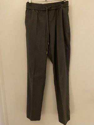 H&M Wełniane spodnie Wielokolorowy