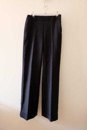 Boden Woolen Trousers black wool