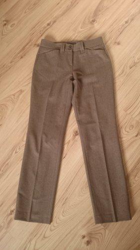 Brax Pantalon en laine marron clair