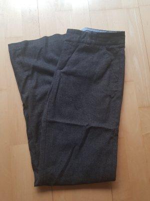 Esprit Pantalon en laine noir-taupe