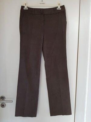 Hauber Pantalón de lana marrón