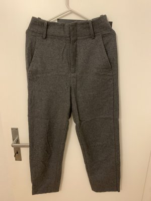 Mango Pantalone di lana grigio Lana