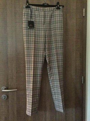 Massimo Dutti Pantalon en laine multicolore laine