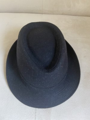 Guerra Chapeau en laine noir