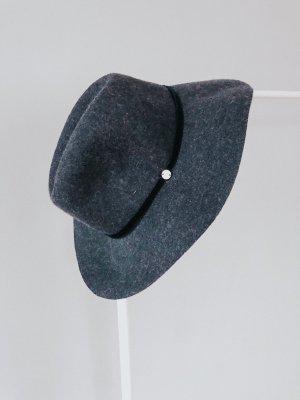 Esprit Wollen hoed donkerblauw-leigrijs