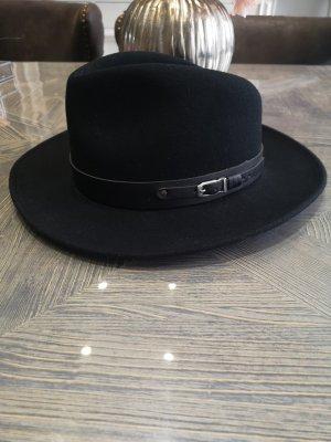 Bollmann Cappello di lana nero
