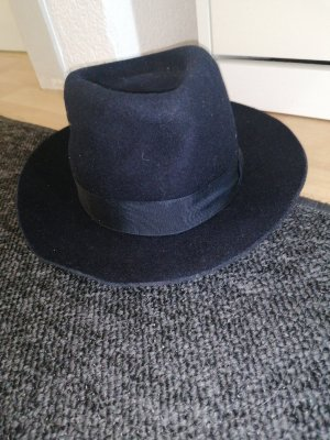 Royal Wollen hoed donkerblauw