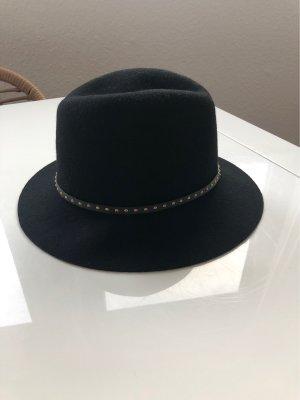 Galeries lafayette Wollen hoed zwart