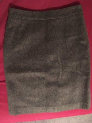 van Laack Wełniana spódnica ciemnoszary