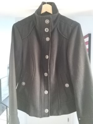 QS by s.Oliver Wool Jacket black