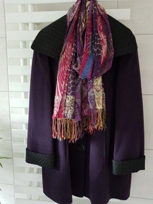 Marcona Chaqueta de lana violeta oscuro