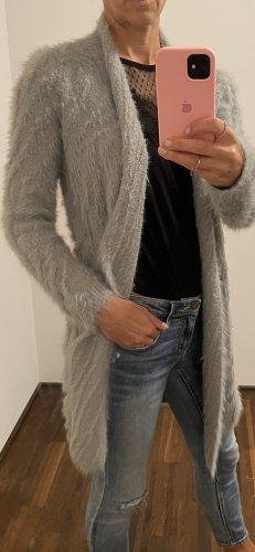 7 Seasons Wełniany sweter jasnoszary-srebrny