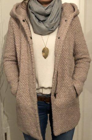 Only Chaqueta de lana rosa
