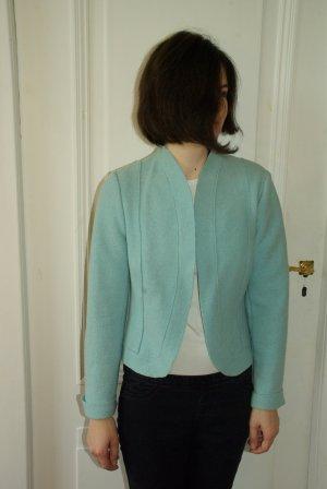 Basset Blazer en laine bleu clair