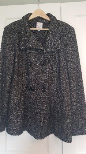 s.Oliver Wool Jacket white-black