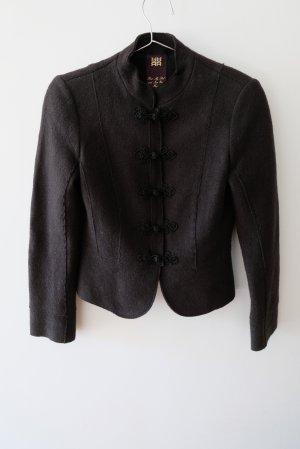 Riani Giacca di lana nero Lana