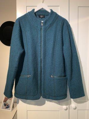 Bexleys Wełniany sweter petrol-morski