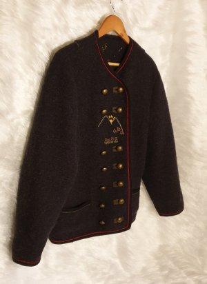 Tradycyjna kurtka antracyt-ciemnoszary