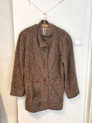Wolljacke Mantel Vintage gefüttert