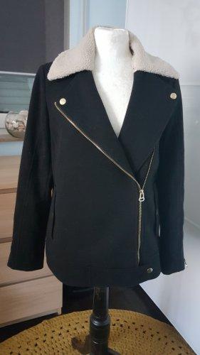 H&M Wełniany sweter czarny