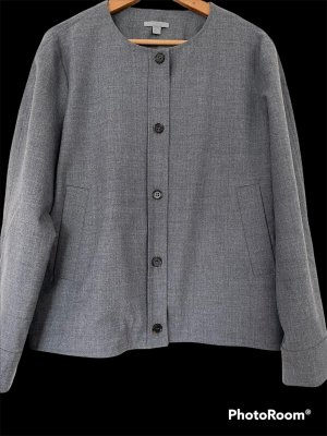 COS Chaqueta de lana gris