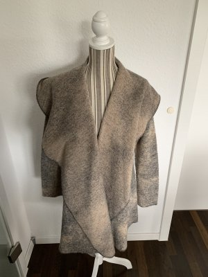 Paul Costelloe Veste en laine beige-gris