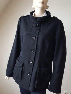 Wolljacke Winterjacke Jacke Schwarz H&M Größe 46