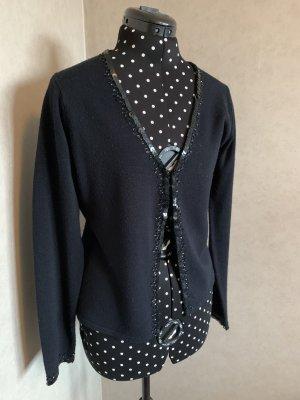 3 Suisses Sweter z dekoltem w kształcie litery V czarny