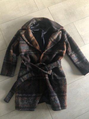 Katia g. Abrigo de lana rojo amarronado