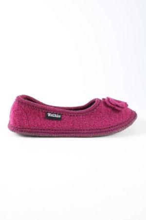 Hüttenschuhe pink Casual-Look