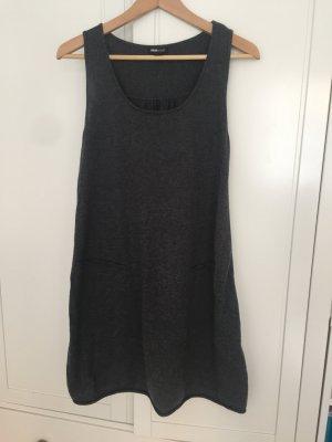 H&M Vestito di lana grigio scuro