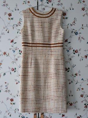 Bianco Woolen Dress multicolored wool