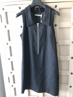 Kookai Vestido de lana azul oscuro
