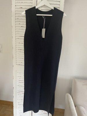 COS Woolen Dress dark blue
