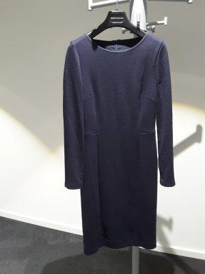 fogal Robe en laine bleu foncé laine