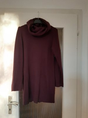 H&M Vestito di lana bordeaux
