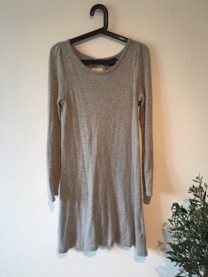 H&M Robe en laine gris clair-gris