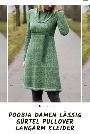 Woolen Dress multicolored