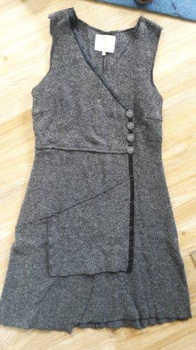 Wollkleid grau