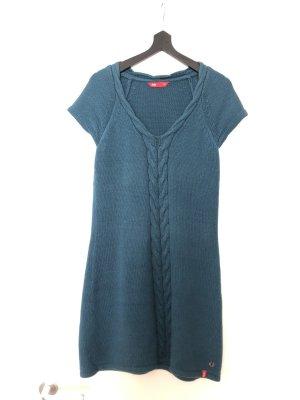 edc Vestito di lana blu cadetto
