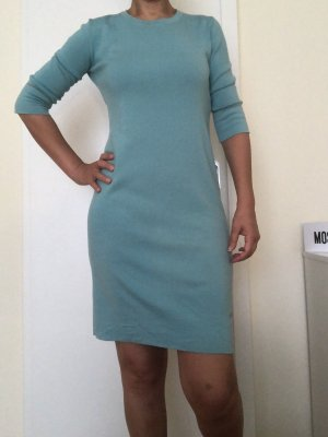 Laura biagiotti Midi Dress turquoise wool