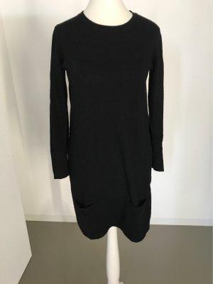 Benetton Robe en laine noir laine