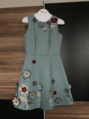 RED Valentino Woolen Dress multicolored wool