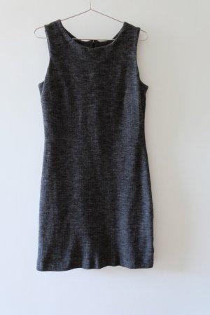 hessnatur Robe en laine gris anthracite-gris foncé laine
