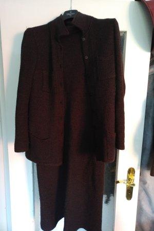 unbekannte Woolen Dress black brown