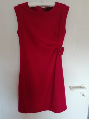 Kala Berlin Vestido de lana rojo oscuro Lana