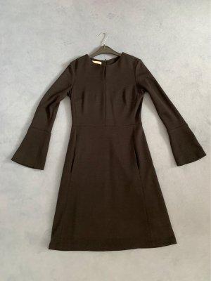 Lanius Robe en laine noir