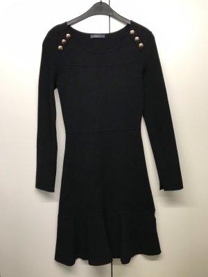 Wollkleid schwarz Zara Gr. M