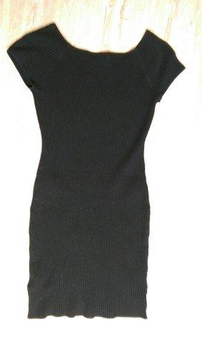 Wollkleid Stretchkleid Minikleid H&M schwarz M